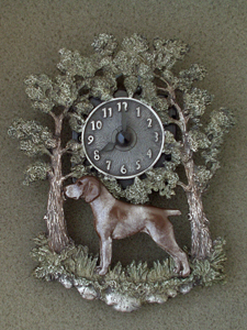 German Shorthaired Pointer - Wall Clock metal