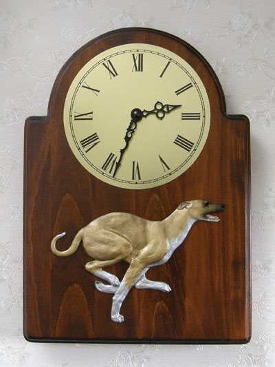 Greyhound - Wall Clock Classic