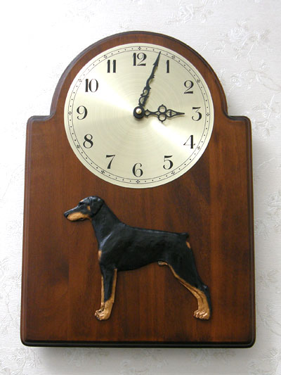 Dobermann - Wall Clock Classic