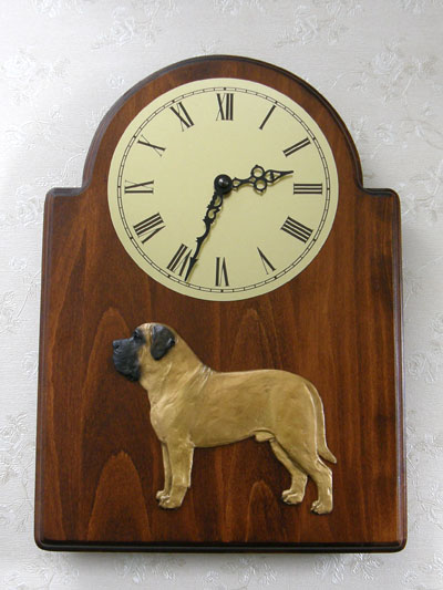 Mastiff - Wall Clock Classic