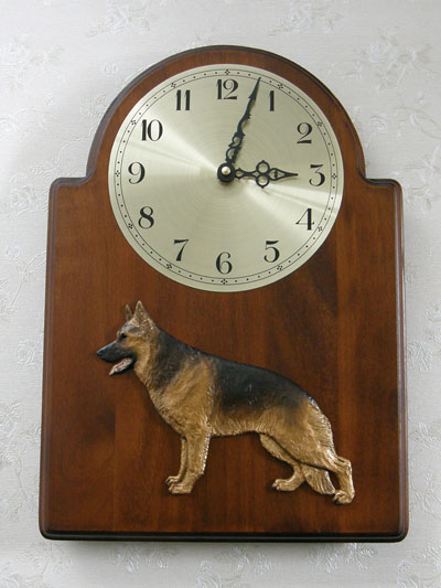 German Shepherd - Wall Clock Classic