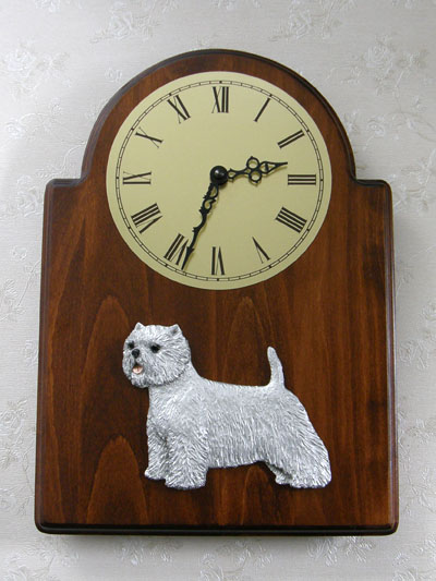 West Highland White Terrier - Wall Clock Classic