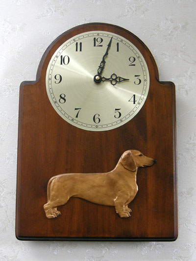 Dachshund Smooth - Wall Clock Classic