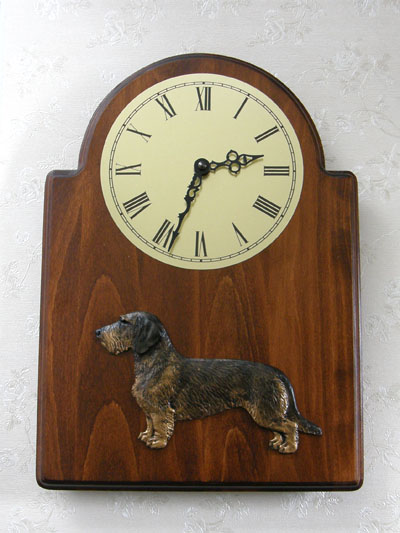 Dachshund Wire - Wall Clock Classic