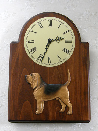 Bloodhound - Wall Clock Classic
