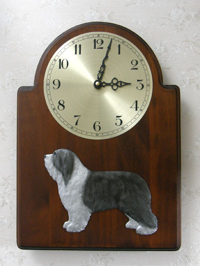 Bearded Collie - Wall Clock Classic